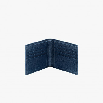 Blue polyester male wallet M