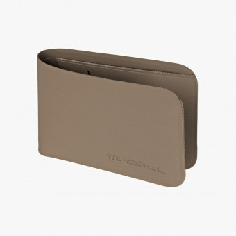Gray polyester female wallet L