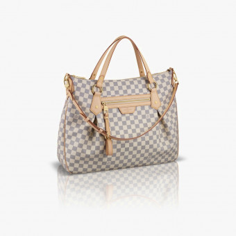 Beige synth leather female L