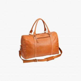 Orange leather female L