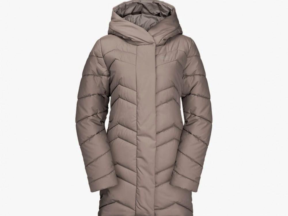 Gray polyester female coat XS