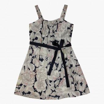 White cotton dress S