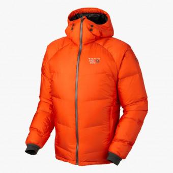 Orange polyester unisex jacket M