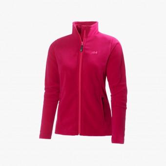 Pink cotton female jacket M