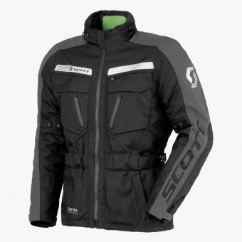 Black polyester male jacket M