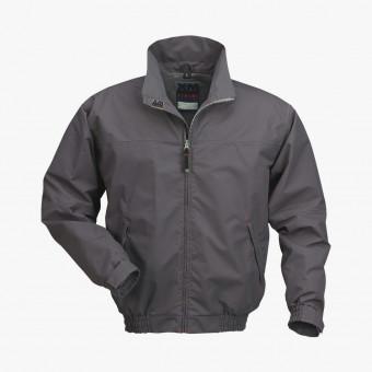 Gray polyester female jacket S