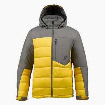 Yellow polyester unisex jacket XL