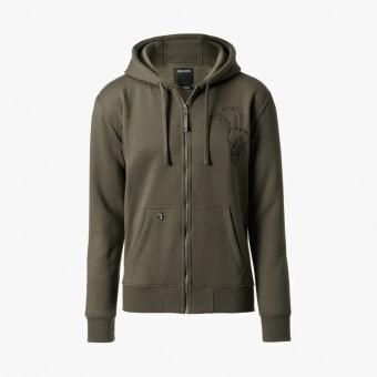 Gray cotton male jacket XL
