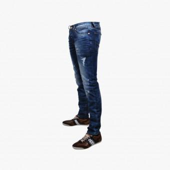 Dark blue lycra male jean M