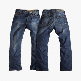 Darker blue cotton male jean M