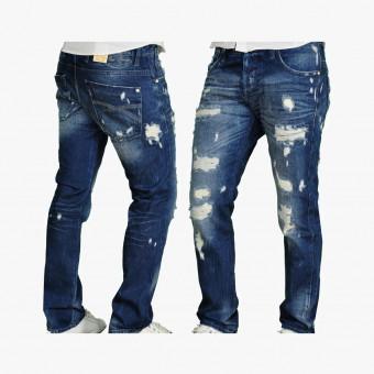 Dark Blue cotton male jean L