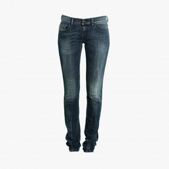 Darker blue lycra female jean S