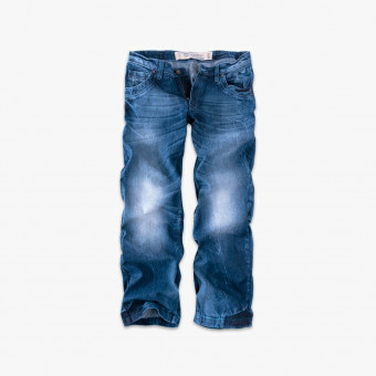 Blue cotton male jean S