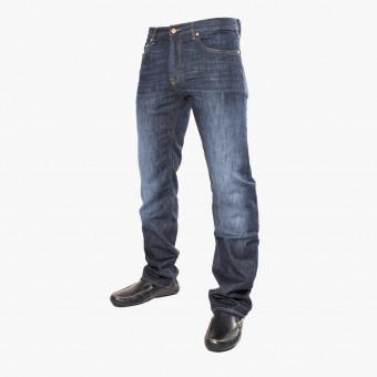 Dark blue cotton male jean XL