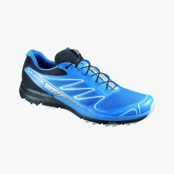 Blue polyurethane male shoes 11
