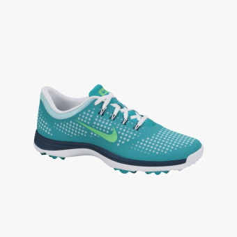 Turquoise silicone female shoes 9