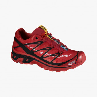 Red polyurethane male shoes 9