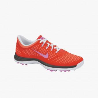 Orange silicone female shoes 8.5