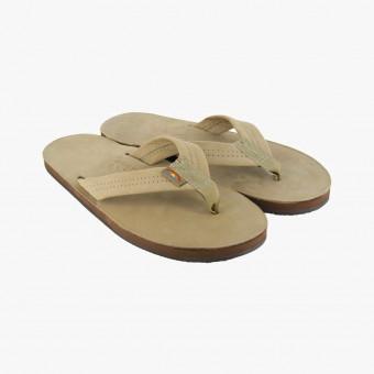 Βeige synth leather sandals 9
