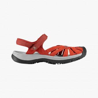 Orange silicone sandals 13