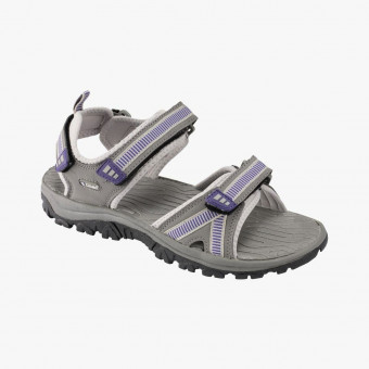 Gray silicone sandals 9,5