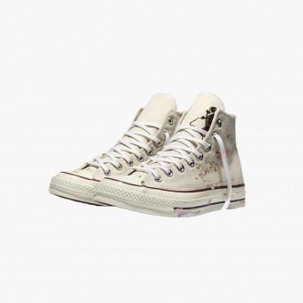 White cotton sneakers 10