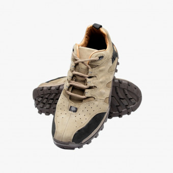 Beige Synth leather sneakers 9