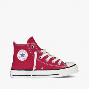 Red cotton sneakers 8