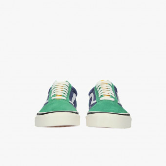 Turquoise cotton sneakers 13