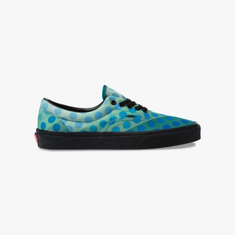 Turquoise synth leather sneakers 7.5