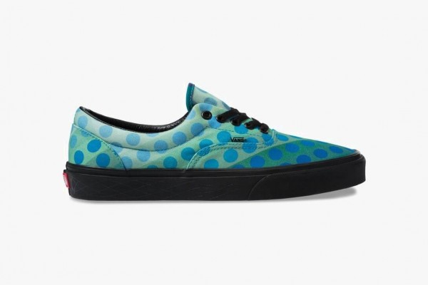 Turquoise synth leather <mark>sneakers</mark> 7.5