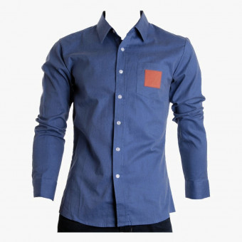 Dark blue cotton male L