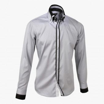Light gray polyester male L