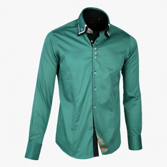 Light green polyester male L