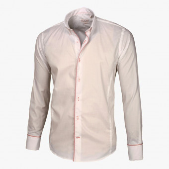 White polyester male XS