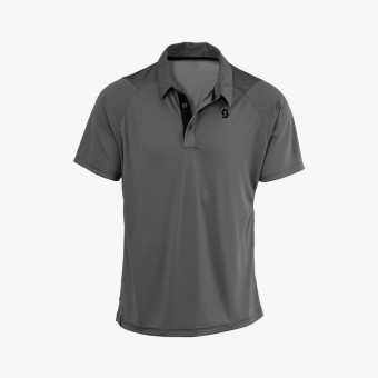 Dark gray polyester male t-shirt M
