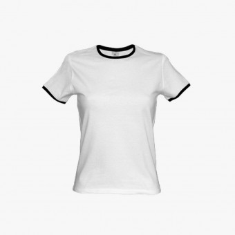 White cotton male t-shirt M