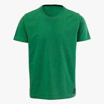 Dark green cotton male t-shirt XL