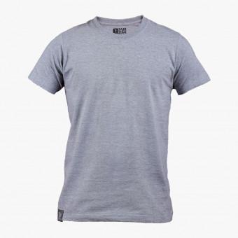 Gray cotton male t-shirt XS