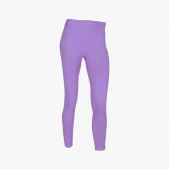 Purple polyester female legging M