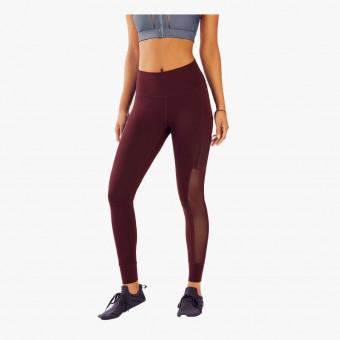 Bordeaux polyester female legging L