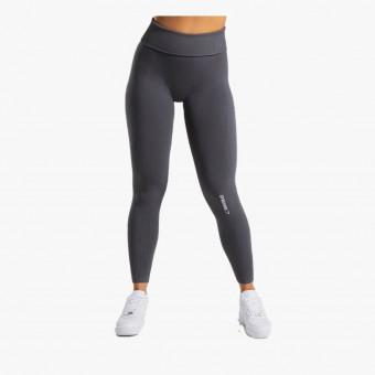 Dark gray polyester female legging S