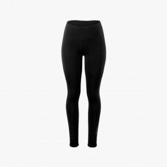 Black polyester female legging S