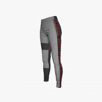 Gray polyester male legging XL