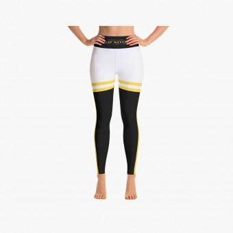 White polyester female legging XS