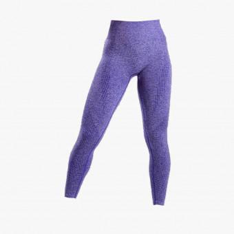 Purple polyester female legging XS